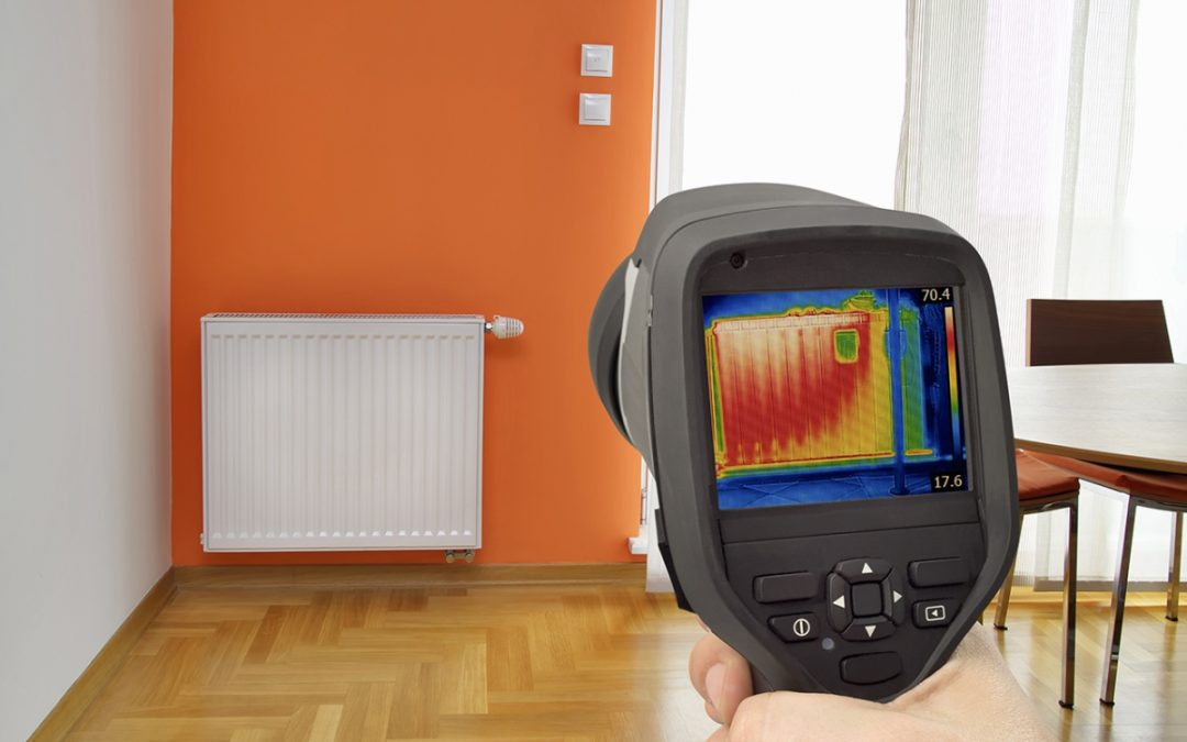 thermal imaging during a home inspection